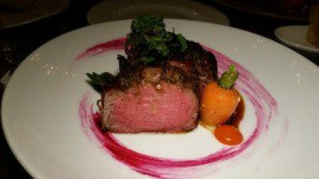 Black Angus Filet Mignon, Bone Marrow, Herb Crusted