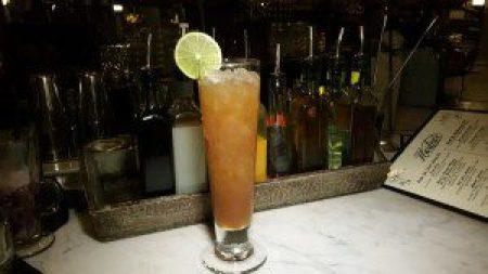 Fernaiquiri Swizzle (Mount Gay Black Barrel Rum, Fernet Branca, Amaro di Angostura, lime, sugar)