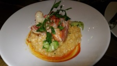 Lobster Risotto, Brussels Sprouts