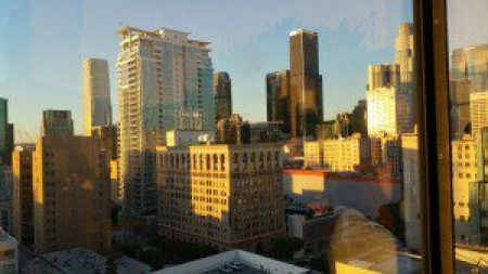View from Upstairs at the Ace Hotel