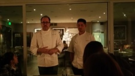 Chef Michael Schlow and Executive Chef Jonathan Kim