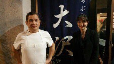 Owners Executive Chef Shigefumi Tachibe and Sayuri Techie