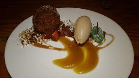 Deep Fried Autumn Spice Cake