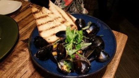 Oven-Roasted Mussels