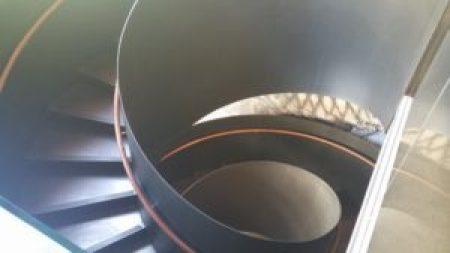 Stairs to K Ramen