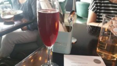 Lambrusco and Orange Cream Soda