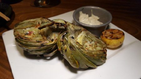 grilled-artichoke-with-remoulade-sauce