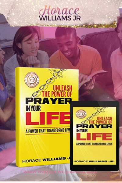 Award-winning power of prayer book. Now available on Amazon!