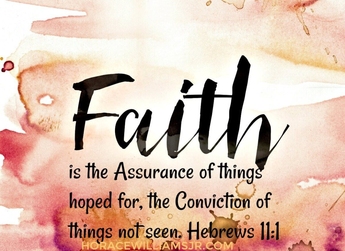 Stand strong in your Faith in God- Regardless!