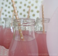 pink, white & gold baby shower  pleasure in simple things