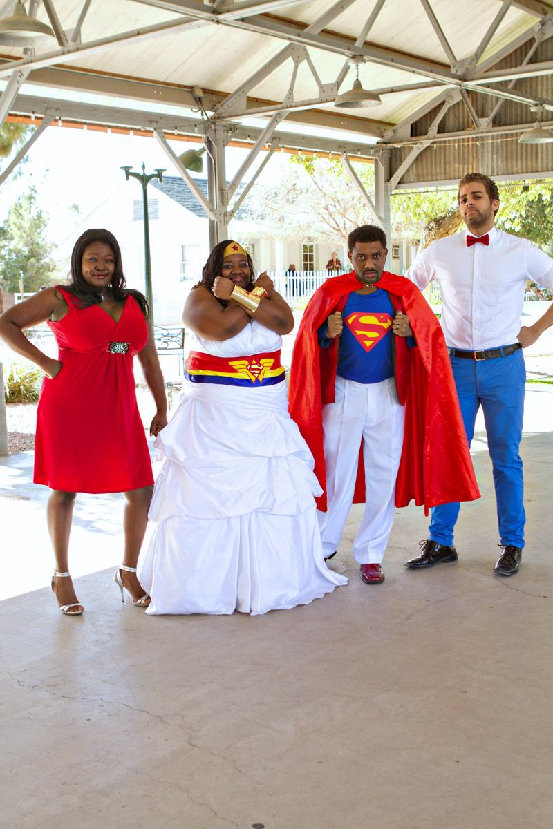 This SupermanWonder Woman Wedding is Super Great 19 Pics