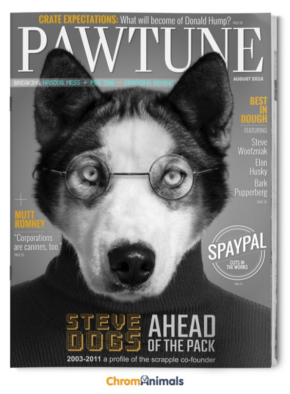 Popular Magazines Reimagined As Dog Magazines Pleated Jeans