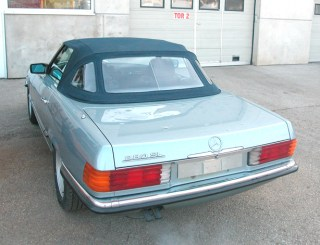 Originalverdeck für Mercedes Cabrio