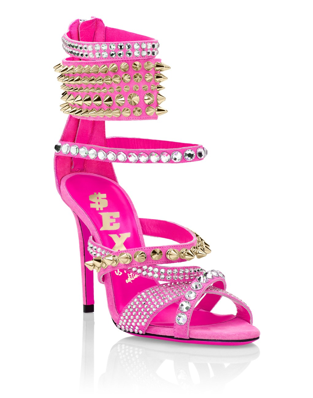 Phillipp Plein sexy pink sandal
