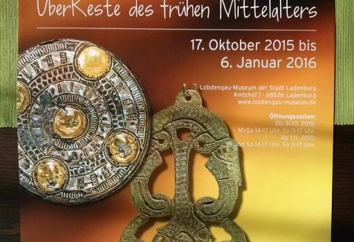 """Poster Denkwerk-Ausstellung """"Dagoberts Ladenburg"""""""