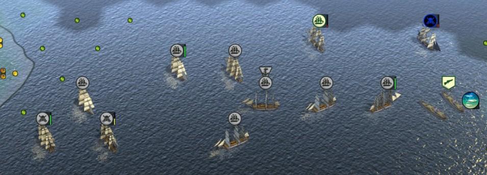 Hochseeflotte in Civilization