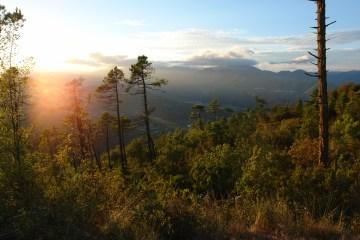 Ligurien Sonnenuntergang Albenga