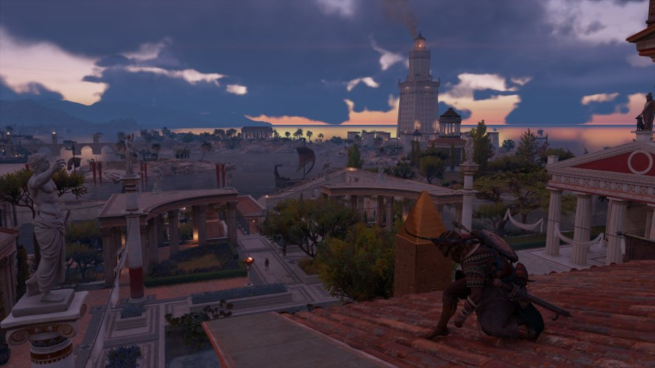 Assassins Creed Origins   Leuchtturm Alexandria