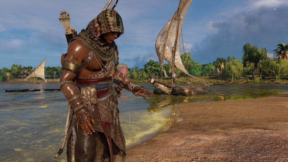 Assassins Creed Origins   Nasse Kleider