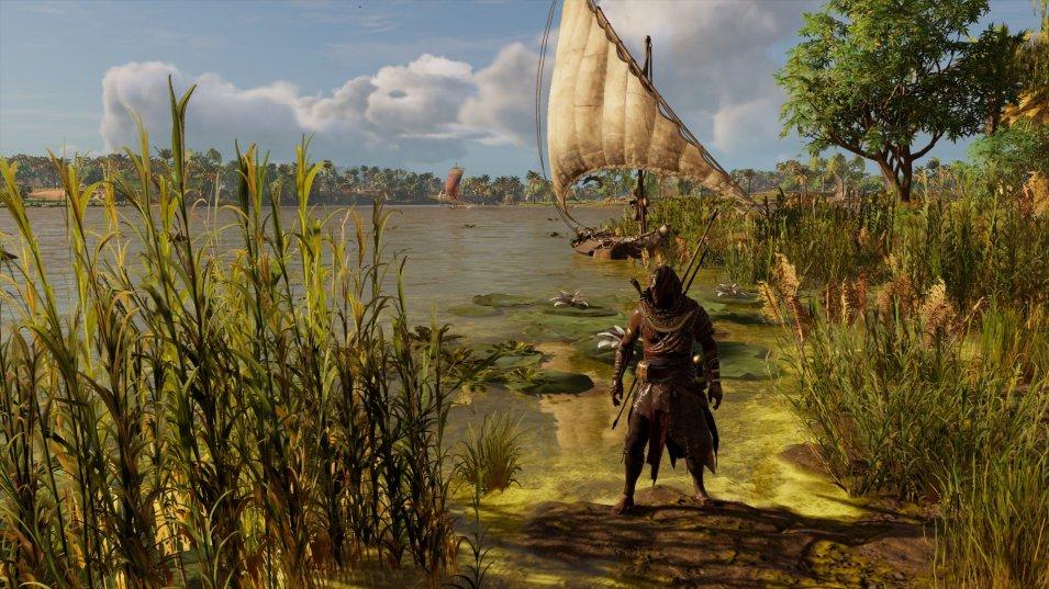 Assassins Creed Origins   Nil-Ufer