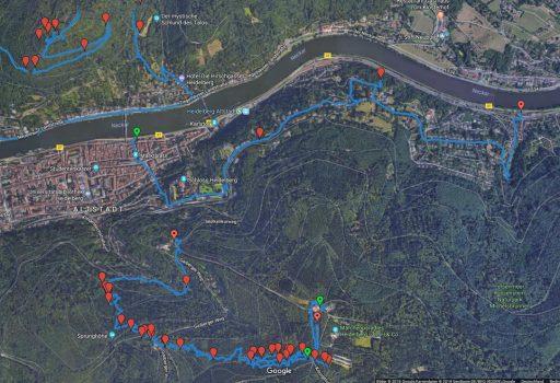 Google Maps mit GPX und KML