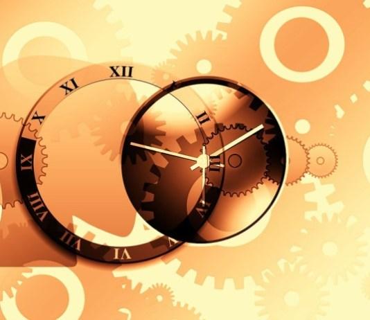 Relógio estilizado
