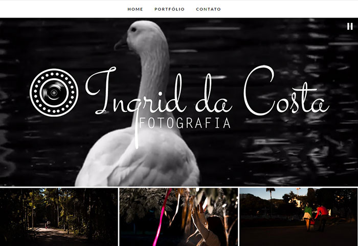 Ingrid da Costa - Site