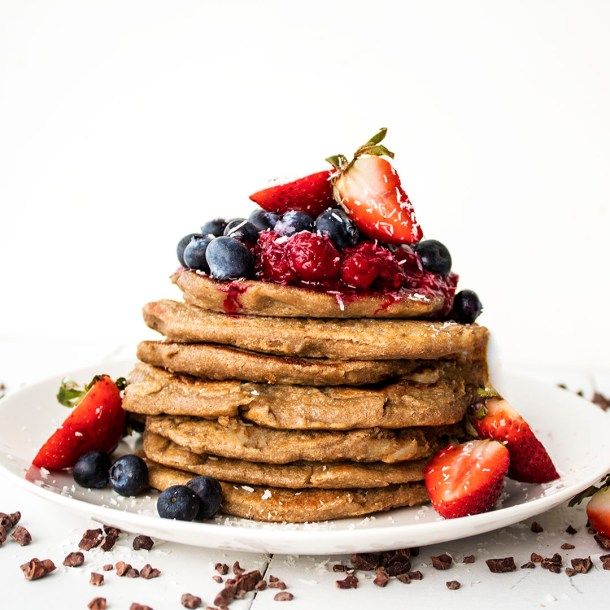 gluten free vegan banana pancakes 3 ingredients