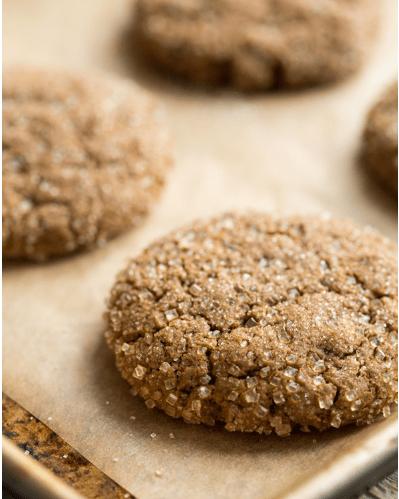 Vegan ginger Molasses cookie