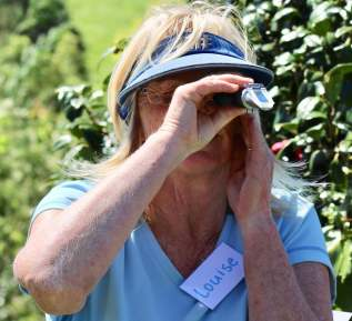 Louise tackles the refractometer