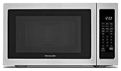 kitchen aid microwaves 36 round table set kcms1655bss kitchenaid countertop