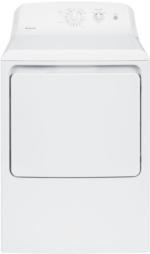 Hotpoint HTX21EASKWW 27 Inch Electric Dryer with 6.2 cu