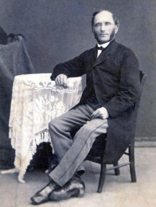 Cornelius Jansen was born in Prussia and emigrated to Berdjansk near the Molotschna Colony in the 1850s where he served as a representative of Prussia. He was an active promoter of emigration in the 1870s and was banished from Russia in 1873 for his tireless activity. He subsequently moved to America, ultimately settling in Beatrice, Nebraska. Photo Credit: GAMEO.