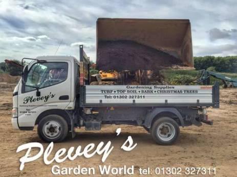 top soil delivered from Pleveys in Doncaster