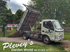 Soil delivered from Pleveys in Doncaster