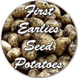 First Earlies seed potatoes