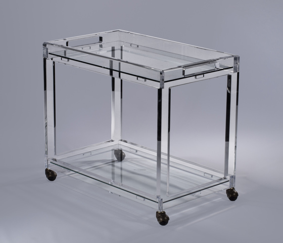 Timothy Whealon Bar Cart