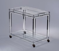 Timothy Whealon Bar Cart - Plexi-Craft Signature Collection