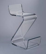 Z Bar stool - Plexi-Craft Signature Collection