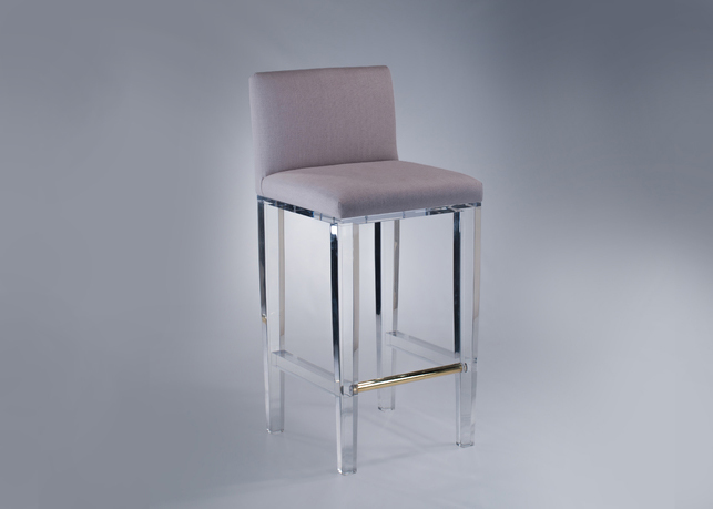 dining chairs fabric farmhouse table and plans chelsea bar stool - plexi-craft signature collection