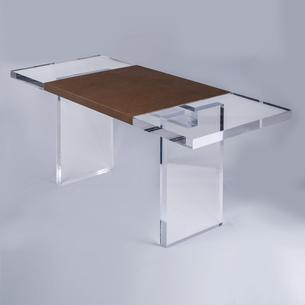 LuciteAcrylic Glass Desks  Vanities by PlexiCraft