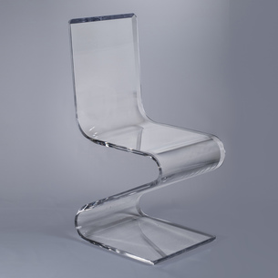 Lucite/Acrylic Glass Chairs Benches by Plexi