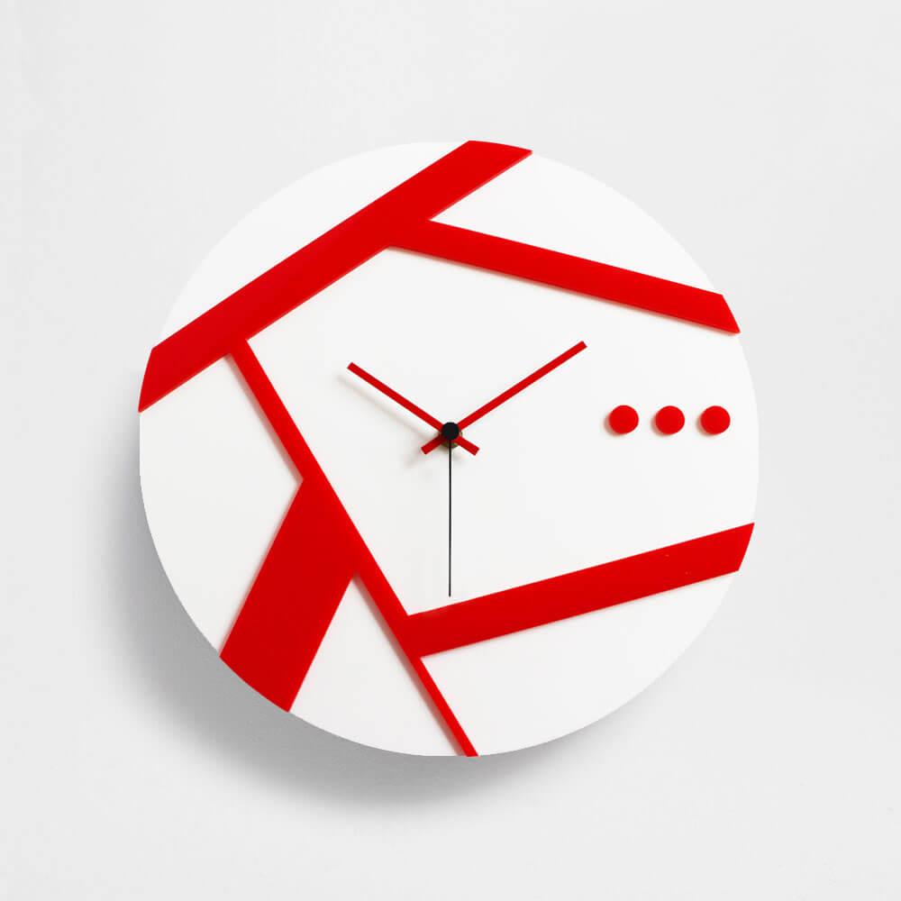 Risparmia con le migliori offerte per orologi da parete moderni a settembre 2021! Orologio Da Parete Moderno Modello Linea Plexiartglass