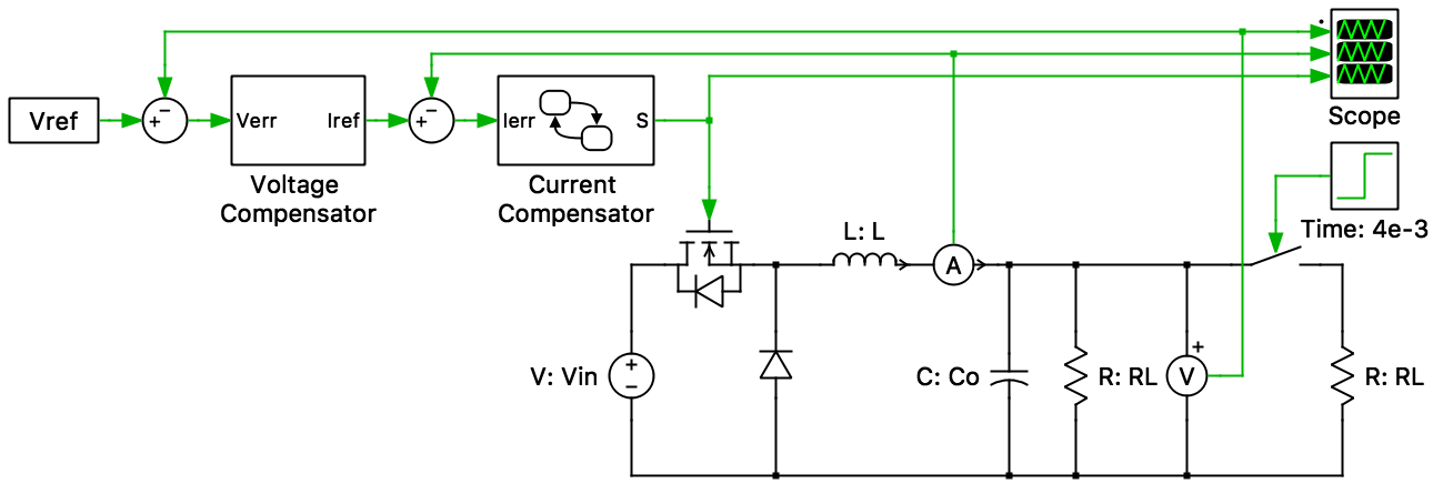 state machine diagram in block ballast resistor wiring buck converter with based constant on time controller