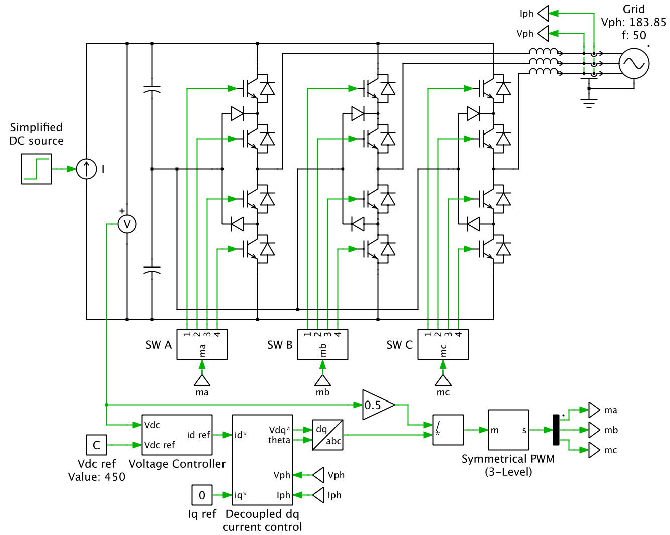 hight resolution of power circuit