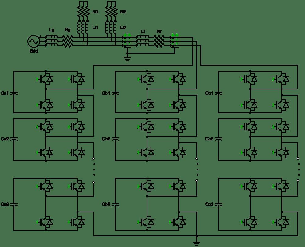 medium resolution of statcom cascaded h bridge converter