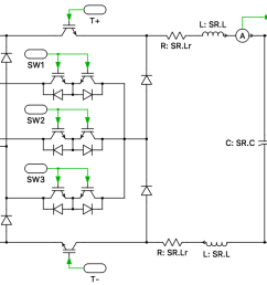 the sr is a unidirectional three phase buck type ac dc converter with power factor correction the sr consists of a three phase diode bridge rectifier  [ 1586 x 772 Pixel ]