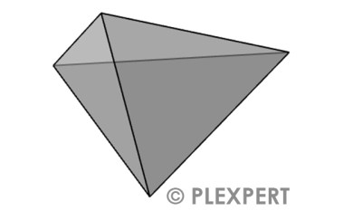 Tetrahedron in Plastic Industry