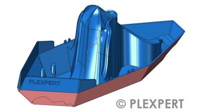 Volumenmodell - Kunststoffbranche