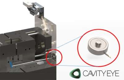 Indirect Pressure Sensor in Plastic Industry by CAVITYEYE
